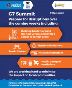 Latest G7 summit information