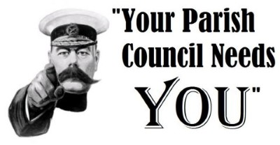 We need you – to be a Parish  Councillor