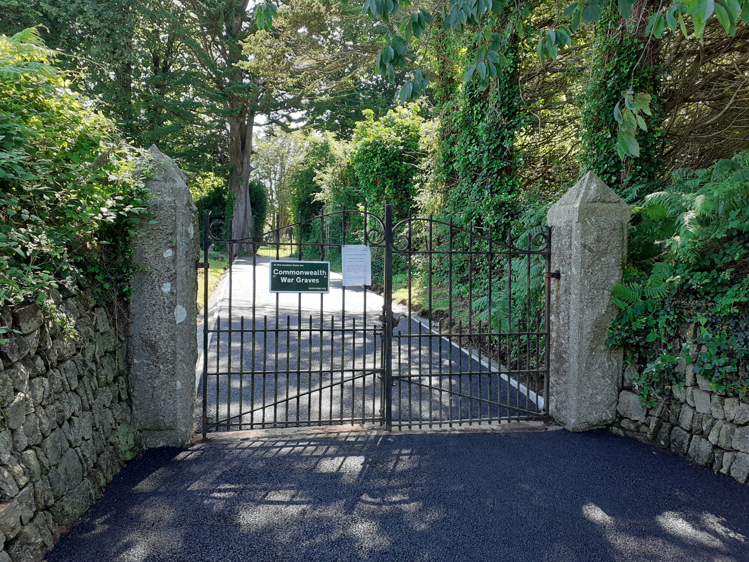 Cemetery Driveway