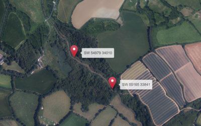Proposed work to protect the Hayle river bank